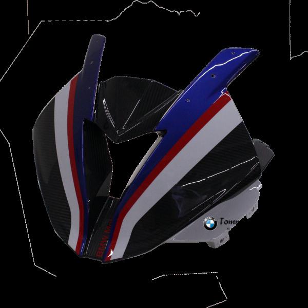 Frontmaske Carbon, lackiert