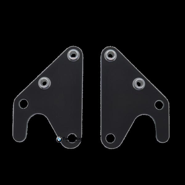 Montageständeraufnahme -Set schwarz eloxiert für HP4 Race